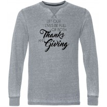 Thanks and Giving Thermal Long Sleeve Tee