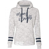 Merry & Bright Women's Fleece Hoodie