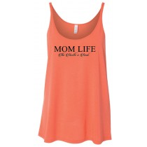Mom Life: The Hustle is Real Women's Slouchy Tank