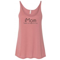 iMom There's No App For That Women's Slouchy Tank