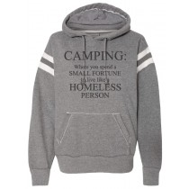 Camping Definition Pullover Sweatshirt