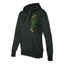 Gehlen Glitter French Terry Hooded Pullover in Women's