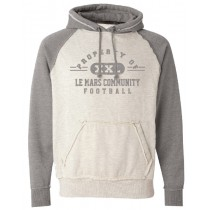 Property of LeMars Football  COMFY Hoodie in Adult (Runs big)