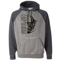 Gehlen Football Helmet COMFY Hoodie in Adult (Runs big)