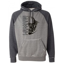 LeMars Football Helmet COMFY Hoodie in Adult (Runs big)
