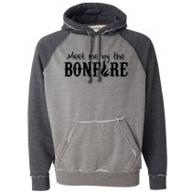 Meet Me By The Bonfire COMFY Hoodie in Adult (Runs big)