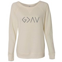 God Is Greater Than The Highs & Lows Vintage French Terry Scrimmage Pullover Sweatshirt