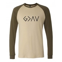 God Is Greater Than The Highs & Lows Unisex Long Sleeve Jersey Baseball Tee