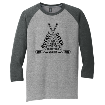 Concession Stand DTG 3/4 Sleeve Raglan in Adult Sizes