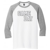 GAME DAY 3/4 Tee in several colors