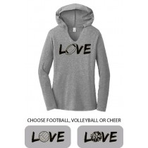 LOVE {sports} Ladies Perfect Long Sleeve Hoodie