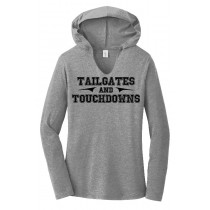 Tailgates & Touchdowns Ladies Perfect Long Sleeve Hoodie