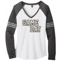 GAME DAY Ladies Game Day V-Neck Tee