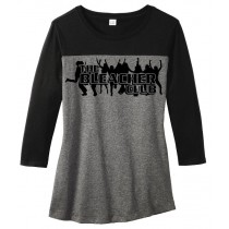 Bleacher Club Juniors Rally 3/4-Sleeve Tee