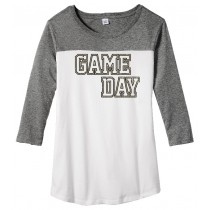 GAME DAY Juniors Rally 3/4-Sleeve Tee