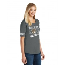 That's My Son Out There Ladies Scorecard Tee