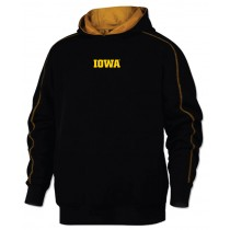IOWA HAWKEYES Hooded Sweatshirt in Adult Sizes