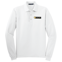 SC Dresscode Port Authority Silk Touch Long Sleeve Polo