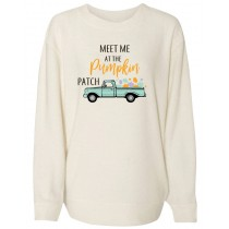 Meet Me At The Pumpkin Patch Women's Cozy Crew