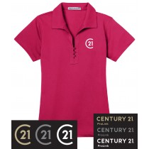 Century 21 Tech Pique Polo in Adult, TALLS & Ladies
