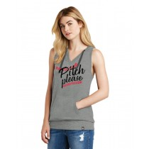 Pitch Please Ladies Heritage Blend Hoodie Tank