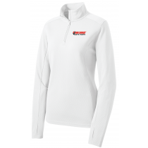 Big Sioux Auto Ladies Sport-Wick Textured 1/4-Zip Pullover