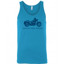 Vacation Mode Motorcycle Unisex Tank in youth & adult
