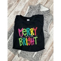 Merry & Bright COLORFUL Unisex Tee