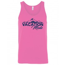 Vacation Mode Mountains Unisex Tank in youth & adult