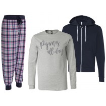 Pajamas All Day Long Sleeve Bundle
