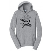 Thanks and Giving Basic Hoodie in Adult