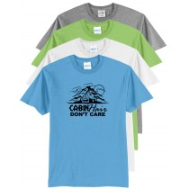 Cabin Hair Don't Care Core Blend Tee Youth and Adult