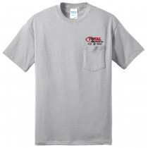 Total Motors Short Sleeve Core Blend Tee With Pocket Left Chest