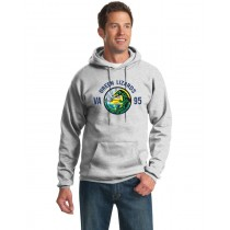 Green Lizard Hooded Sweatshirt