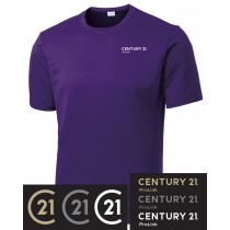 Century 21 PosiCharge Competitor Short Sleeve Tee in Adult, Talls, Ladies & Youth