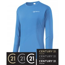 Century 21 PosiCharge Competitor Long Sleeve Tee in Adult, Talls, & Youth