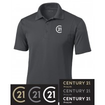 Century 21 Micropique Sport-Wick Polo in Adult, Talls, & Ladies