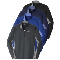 FVH February Feature Adult Sport Tek Stretch Contrast 1/2 Zip Pullover