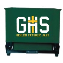 GCF17 Forest Green Stadium Chair