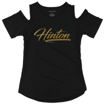 Hinton Boxercraft Cold Shoulder Long Sleeve Youth, Women & Plus