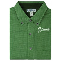 NEW - FVH BAW Men's Houndstooth Gingham Shirt