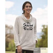 'Tis The Season To Be Freezin' Women's Funnelneck Sweatshirt