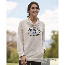 Baby It's Cold Outside Women's Funnelneck Sweatshirt